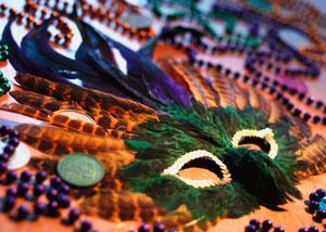 image of mardi-gras masks