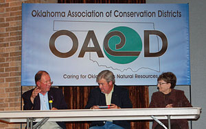 image of OACD executives and Dust Bowl survivor