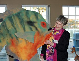 image of Liz Elliott, volunteer