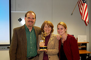 image of Ben Pollard, Cheryl Cheadle and Sarah Blaney