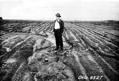 image of Hugh. H. Bennett standing in a field