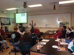 image of Bruce Lemmon teaching class