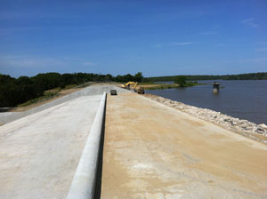 image of Caney Coon Creek Watershed Dam