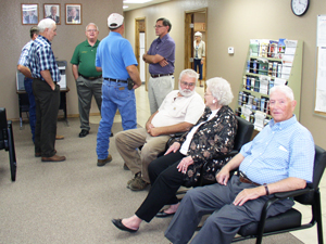 image of Coal County CD directors, commissioners and other visitors