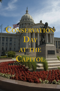 flyer for Conservation Day at the Capitol 2013