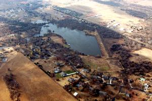 image of new development downstream