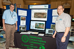 image of OCC employees at DamWatch booth
