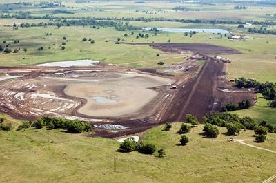 image of Double Creek under rehabilitation construction