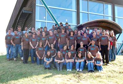 image of Oklahoma Envirothon teams, advisors and volunteers