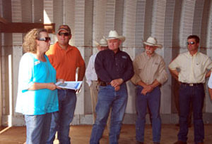 image of speakers at Farm Bureau Tour