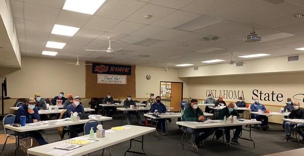 image of Oklahoma Master Irrigator class