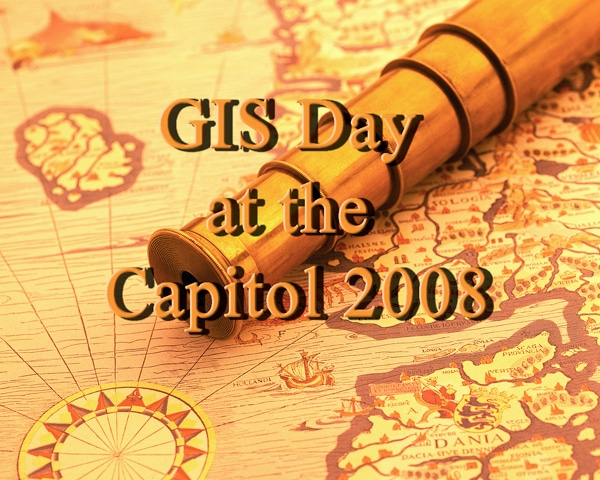 image of GIS Day flyer