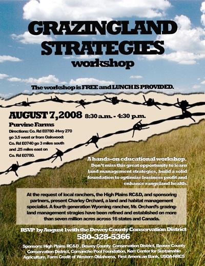 image of grazingland workshop flyer