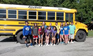 image of Mount Saint Mary Oklahoma History students