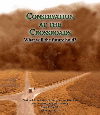 flyer image for Conservation at the Crossroads
