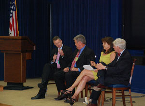 image of Dust Bowl NEH Preview panelists