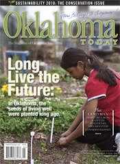 Cover of the May/June 2010 issue of Oklahoma Today magazine