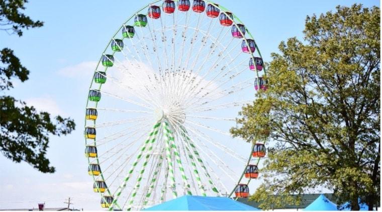ferris wheel at OK state fair