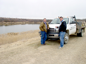image of Brian Renager and Donnie Condit standing