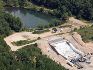 image of Sallisaw Creek Dam