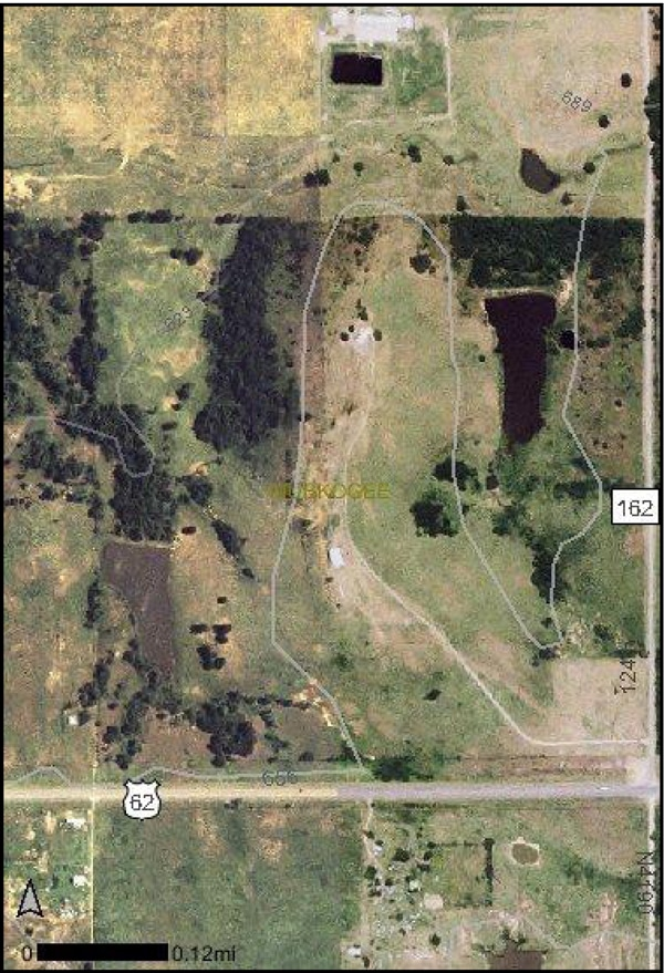 aerial image of land