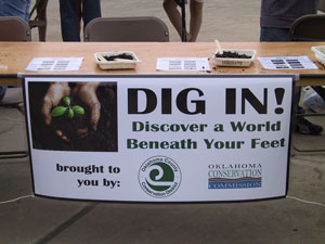 image of DIG IN booth