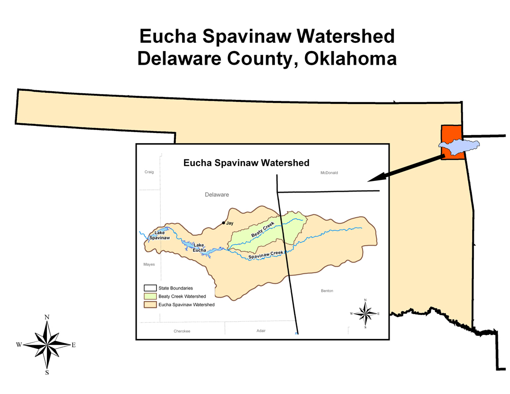 image of Eucha/Spavinaw Watershed