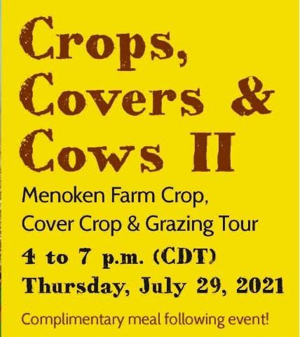 Crops, Covers & Cows II, Menoken, N.D. Farm Group, Cover Crop & Grazing Tour