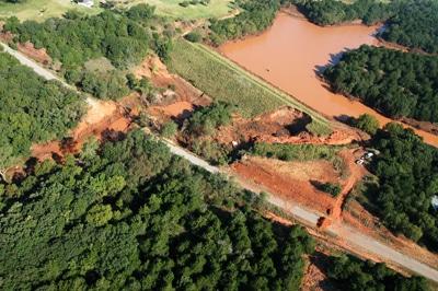 image of sugar creek dam